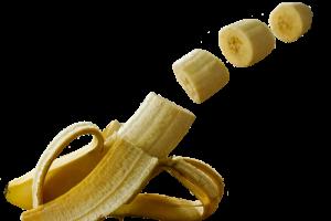 Banane coupé